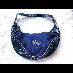 Marc Ecko Blue Shoulder Bag